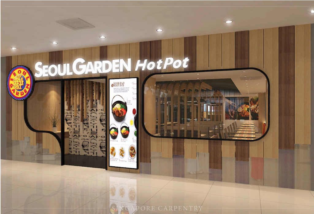 Seoul Garden Hot Pot Oriental Commercial Exterior Design