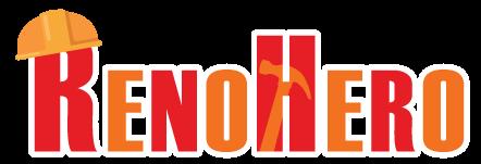 RenoHero Handyman Renovation Interior Design Services Logo