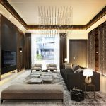 Gold Accented Luxury with Cove Lighting