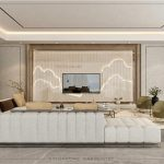 Designing A Landed Property With Neutral Toned Luxury