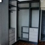 Timeless L-shape Open-Wardrobe Design