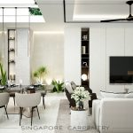Clean and Modern Penthouse Interior Design