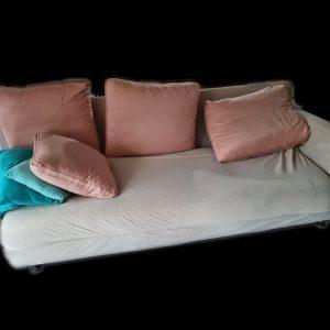 3 seater donated sofa for wishlist charity interior decor furniture