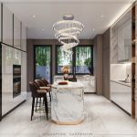 Luxury Home Design With Marble